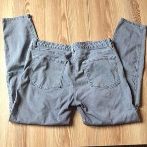 Banana Republic Grey Jeans, Cropped