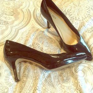 Patent leather pumps- Sz 10
