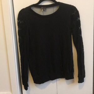 Urban Outfitters - Black arm pattern pullover - S