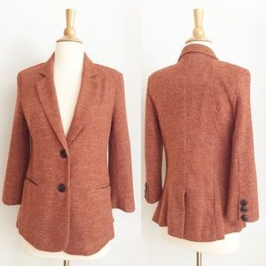 ⭐️Like New⭐️ Anthropologie Cartonnier Rust Blazer