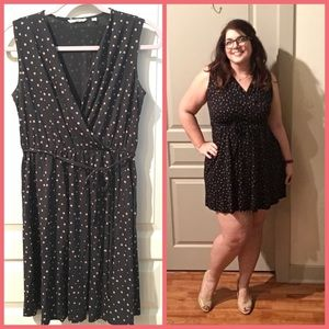 Dotted Dress with Self-Tie 😍