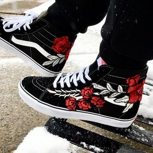 39fae97ca5 embroidered vans shoes Sale