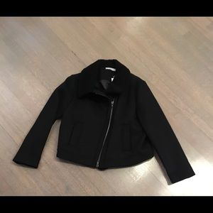 NWT Vince jacket with shearling collar