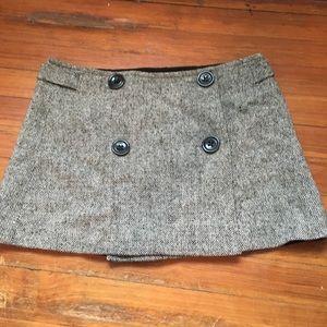 Gap tweed miniskirt