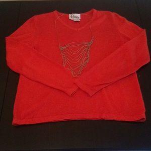 [Lilly Pulitzer] Vintage Orange Sweater