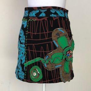 Anthropologie Neslay Paris Mini Skirt, M