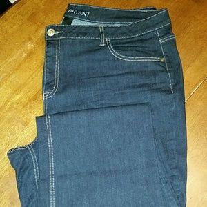Lane Bryant Mid Rise Boot Cut Jeans 24 Long