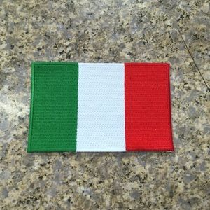 Italy Country Iron on Flag Patch