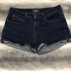 Guess Stretchy High Waisted Shorts