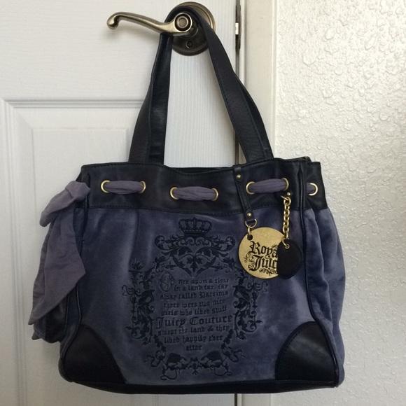 43a22002c Juicy Couture Bags | Sale Royal Juicy Tote Bag | Poshmark