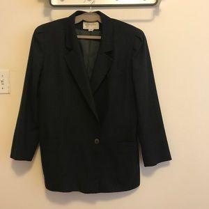 Vintage Christian Dior Wool Single Button jacket