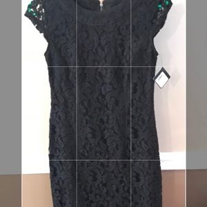 Black lace dress from Nordstrom NWT beautiful