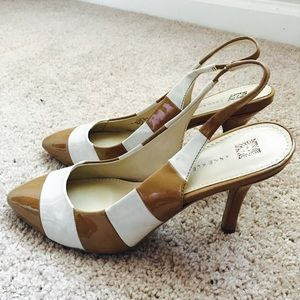 Anne Klein Zaria Striped Pumps