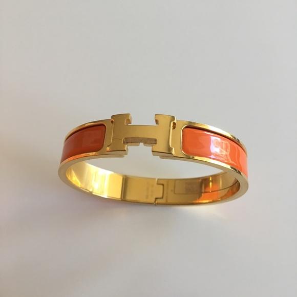 Hermes Jewelry   Authentic Clic Clac H Bracelet Gm Narrow   Poshmark bb0e3486985