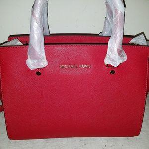 Handbags - RED Michael Kors Selma Bag