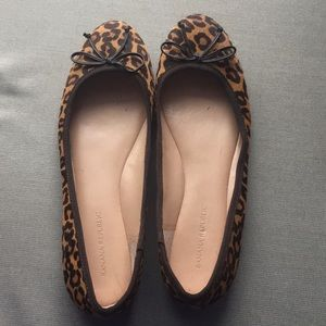 Banana Republic cheetah print flats
