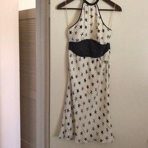 Catherine Malandrino silk halter dress