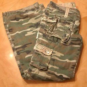 Miss Me camp cargo pants