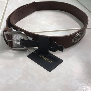 Forever 21 Brown Belt NWT