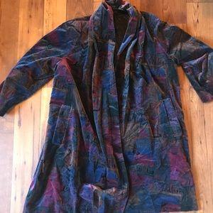 Vintage Velour Over Coat