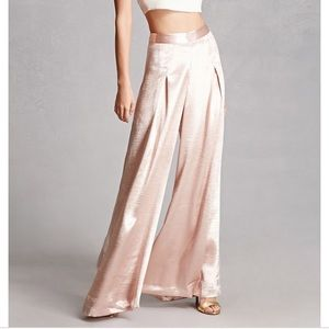 Forever 21 high waist wide leg palazzo Pants
