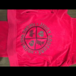authentic juicy couture tracksuit top and bottom
