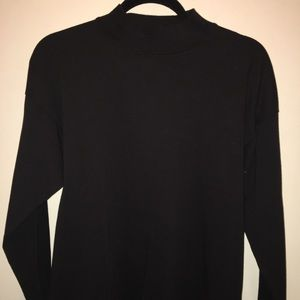 Urban Outfitters Black Mock Neck Tee