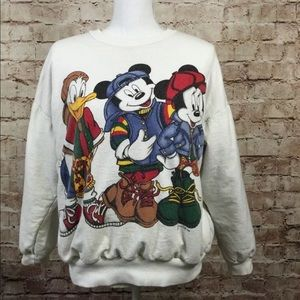 Vintage Mickey  90's Street Hip Hop Jerry Leigh