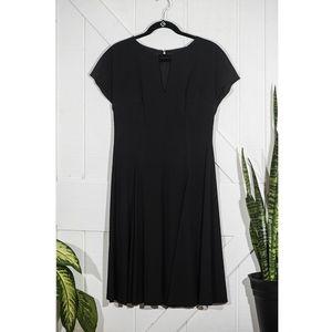 Classic Black Anne Klein Dress