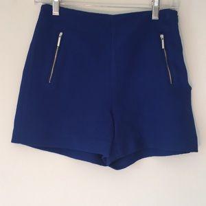 Zara Blue Shorts Size XS