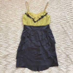Esley Grey Ruffle Hamptons Dress