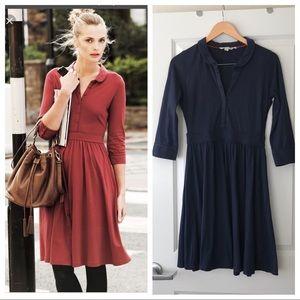 Boden Jersey Shirt Dress