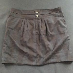 GAP Adorable hunter navy plaid skirt, sz 10