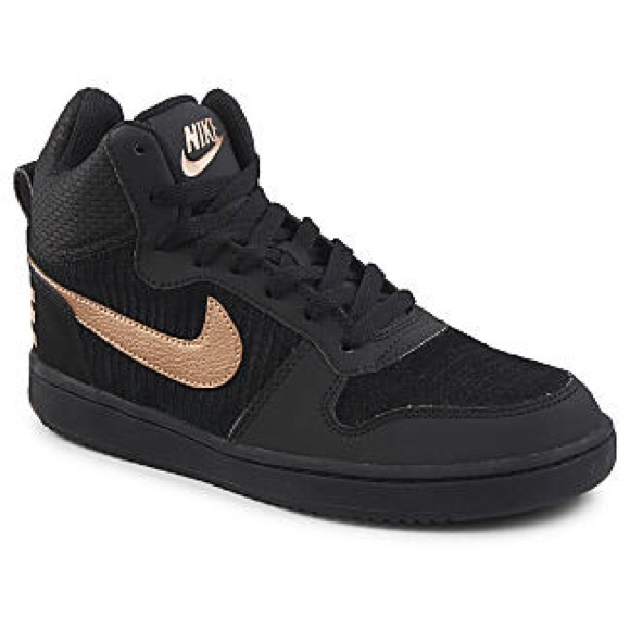 best loved bd004 06c23 Nike high tops - black and rose gold. M5a2c5f3c56b2d676e8027d6e