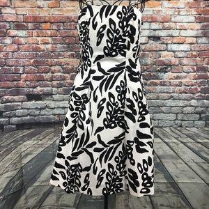 White House Black Market Strapless Dress Size 6