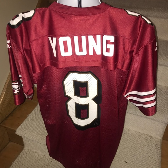 on sale 9c761 719c2 San Francisco 49ers *Steve Young* Starter jersey M