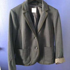 Academy blazer with piping from Gap