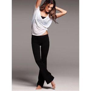 Victoria's Secret Yoga Pants Black White