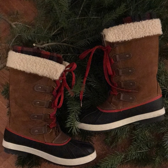1ae0aa2376d5 Shoes | Just Fab Naila Winter Boots Size 75 | Poshmark