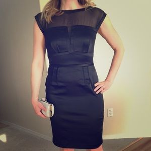 The Limited Scandal Collection Black Dress