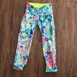 NWOT Lilly Pulitzer luxletic crops
