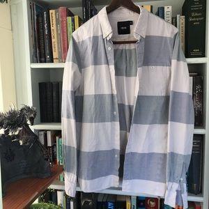 ASOS Striped Button Up Shirt