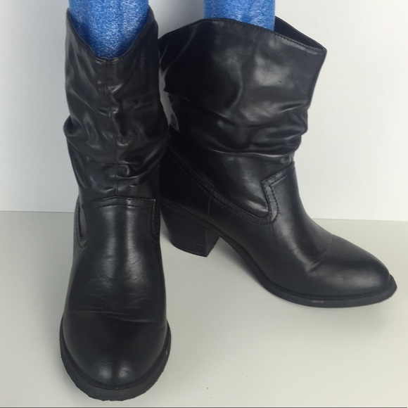 Black Cowboy Style By Shoes Eagle Payless American Cute HzF6wF