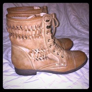 Light brown boots