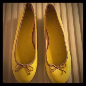 Gap Yellow Ballet Flats