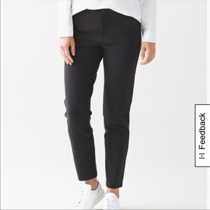 Lululemon never worn black trek trouser.