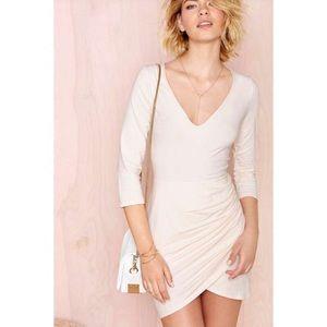 NastyGal Blush Dress