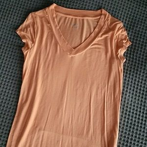 Peach silky top - Merona