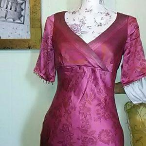 Silk Maxi 👗 dress