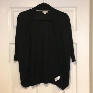 Merona Target Black Cardigan